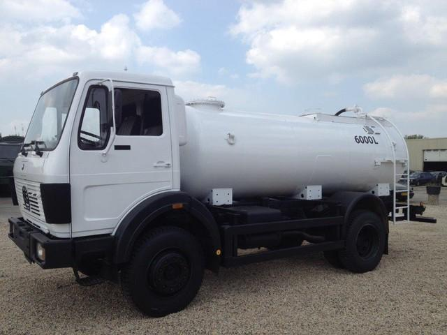 Mercedes-Benz 1017 4x4 fueltruck/watertruck top condition