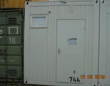 20 Fuß  Dusch-WC-Container S744
