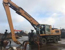 Liebherr A 934 C with magnet line and grab HGT 0,8m³