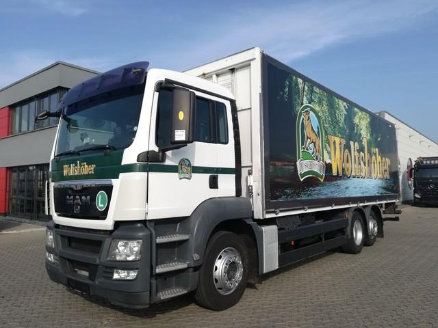 MAN TGS 26.400 BL / Euro 4 / LBW / Drink Transport / Sides open electrically