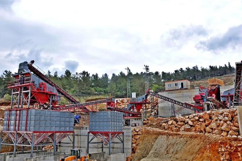 Fabo 500 TPH STONE CRUSHNG & SCREENING PLANT FOR SALE crushing plant