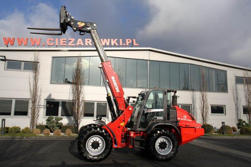 Manitou TELESCOPIC LOADER MANITOU MLA630-125 PS 6 M