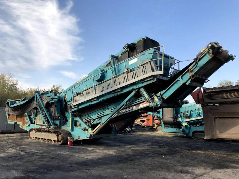 Powerscreen Chieftain 2100 X Bivitec