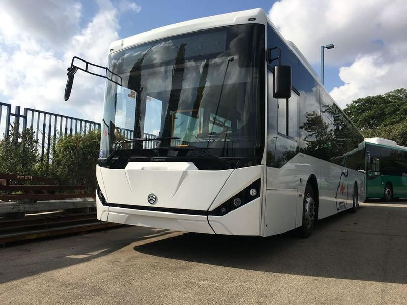 GOLDEN DRAGON 100% ELECTRIC CITY BUSES-EUROPEAN STANDARD