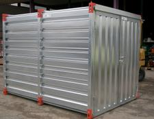 Iovino Materialcontainer 4x2 m Werkzeug Lager Container
