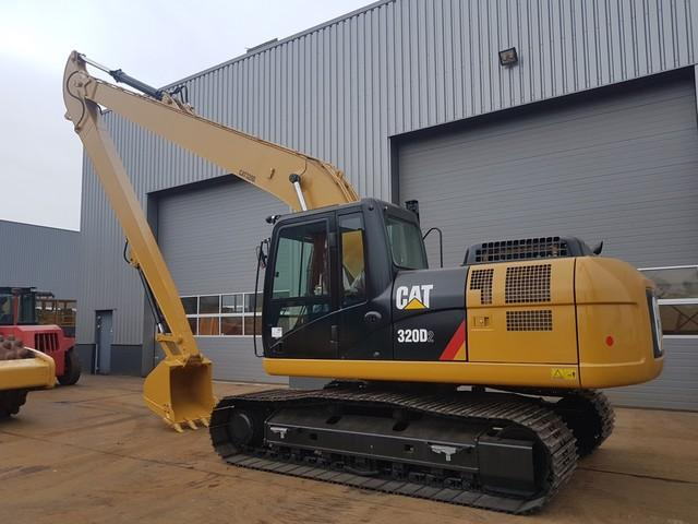 Caterpillar 320D2 Long reach excavator new