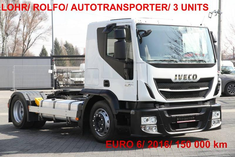 Iveco STRALIS 420 E6 CT LSNRA LOHR AUTOTRANSPORTER ROLFO