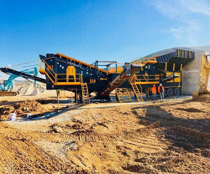 Fabo PRO-150 MOBILE CRUSHING&SCREENING PLANT | READY IN STOCK