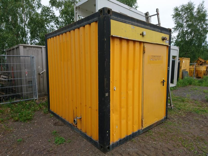 Machinesup Sanitärcontainer 3m lang