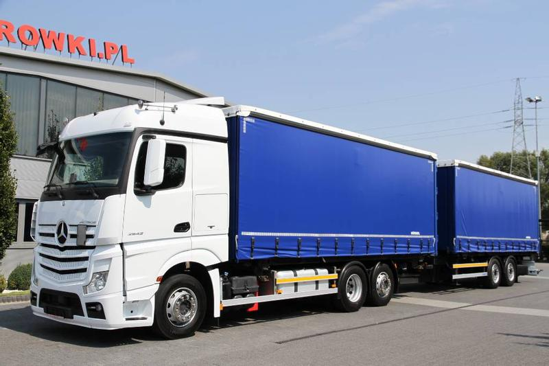 Mercedes-Benz SET 6x2 ACTROS 2542 E6 BDF + SCHMITZ CURTAINSIDE K