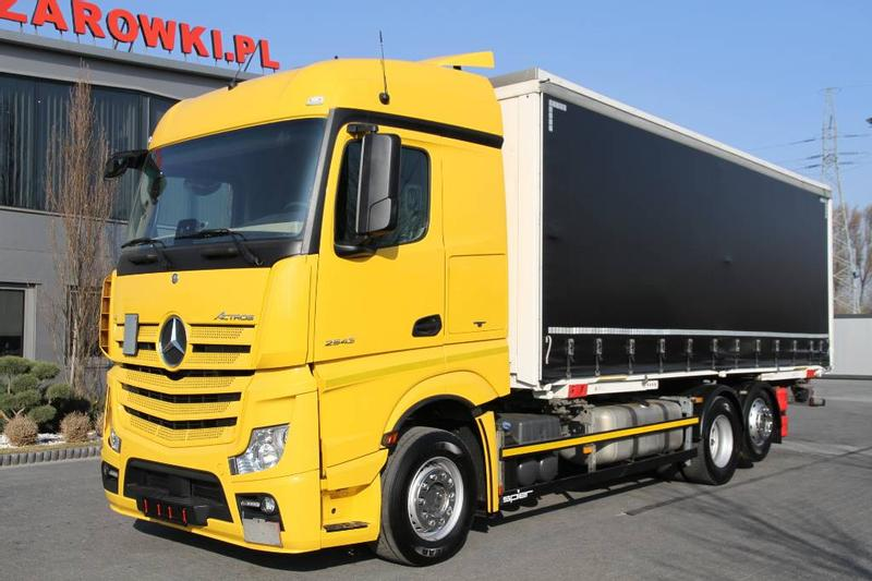 Mercedes-Benz ACTROS 2543 E6 BDF MULTI CURTAINSIDE
