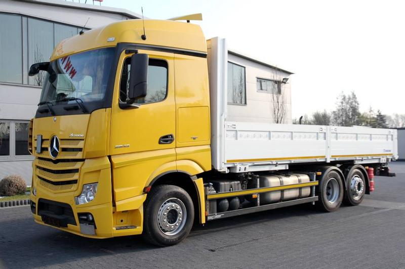 Mercedes-Benz ACTROS 2543 E6 BDF MULTI STAKE BODY