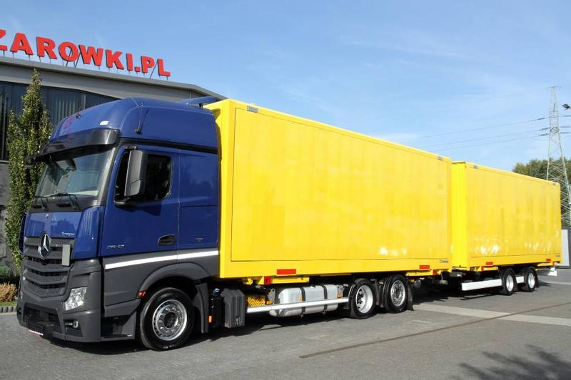 Mercedes-Benz SET JUMBO MEGA BDF ACTROS 2542 E6 BOX CONTAINER 2×