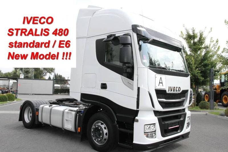 Iveco TRACTOR UNIT STRALIS 480 HI-WAY E6 NEW MODEL! AFTE