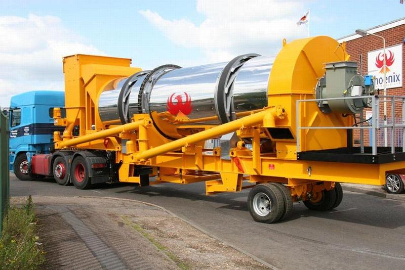 Parker RoadStar M 1500 Asphaltmischanlage  asphalt mixing plant mobile for sale