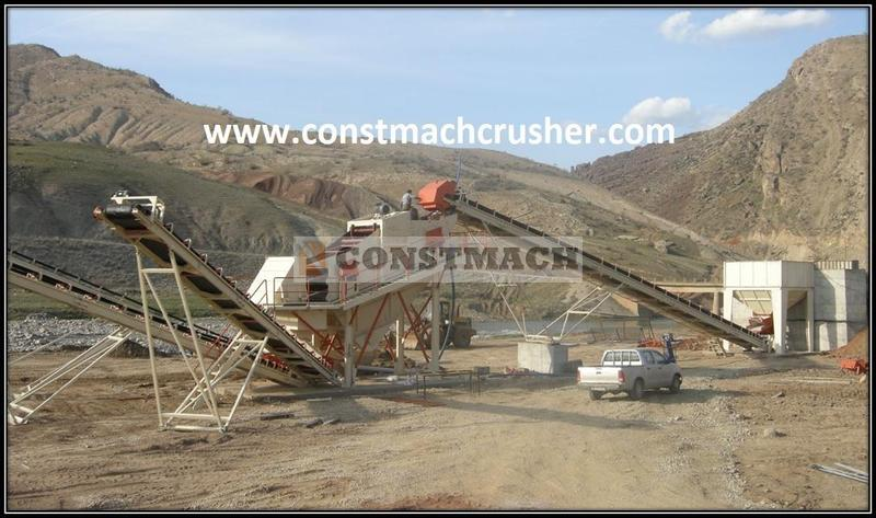Constmach SCREENING AND WASHING PLANT - 200 tph CAPACITY
