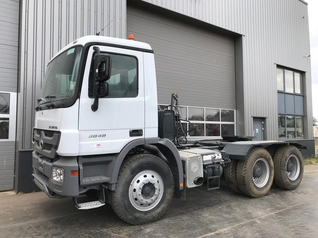 Mercedes-Benz Actros 3848 6x4 Tractor Head