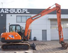 Doosan Solar 75 Long Arm