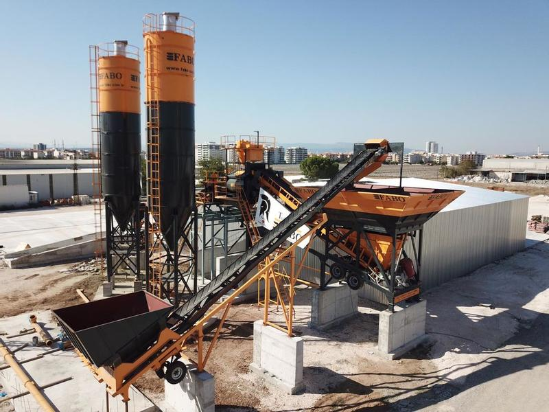 Fabo TURBOMIX-120 MOBILE CONCRETE MIXING PLANT | WORLDWIDE CHOICE