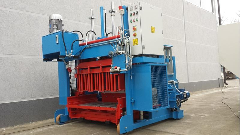 Sumab Euroblock-6S (500 blocks/hour) Movable Block Machine