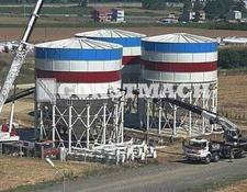 Constmach 1000 Ton Capacity Bolted Cement Silo For Sale