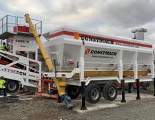 Constmach HORIZONTAL TYPE MOBILE CEMENT SILO