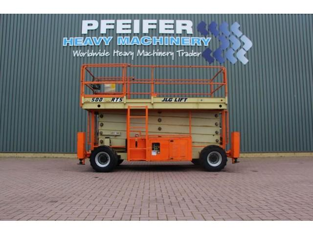 JLG 500RTS Diesel, 4x4x4 Drive, 17.24m Working Height,