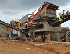Constmach 50-60 tph MOBILE HARD STONE CRUSHING PLANT, 2 YEARS WARRANTY