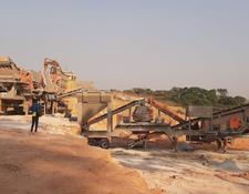 "Constmach MOBILE ""JAW + CONE + VSI"" CRUSHER, 60 tph CAPACITY"