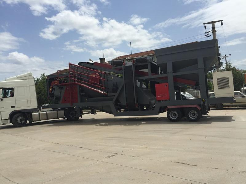 Fabo MEY SERIES 150-200 TPH MOBILE SAND SCREENING & WASHING PLANT