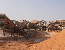 Constmach MOBILE CRUSHING PLANT FOR HARD MINERAL PROCESS – 2 years WARRANT