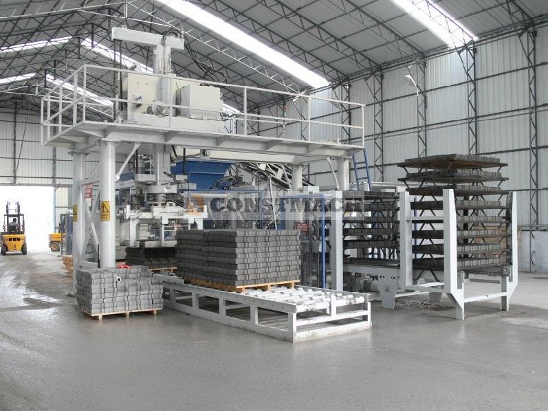 Constmach FULL AUTOMATIC BLOCK MACHINE - 22.000 PCS/DAY
